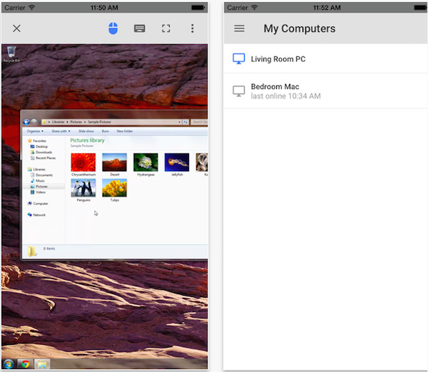 Google's Chrome Remote Desktop for iOS now available - TechSupport