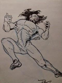 Man Struck by Arrow by Del Teigeler, Mavfire