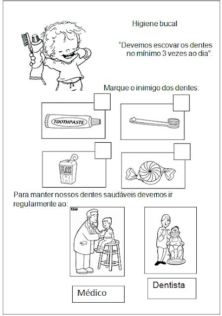 Atividades de Higiene