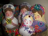 coleção primavera 2012 - Bonequinhas russas