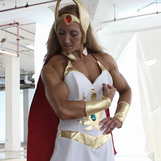Maria Rita Penteado as She-Ra