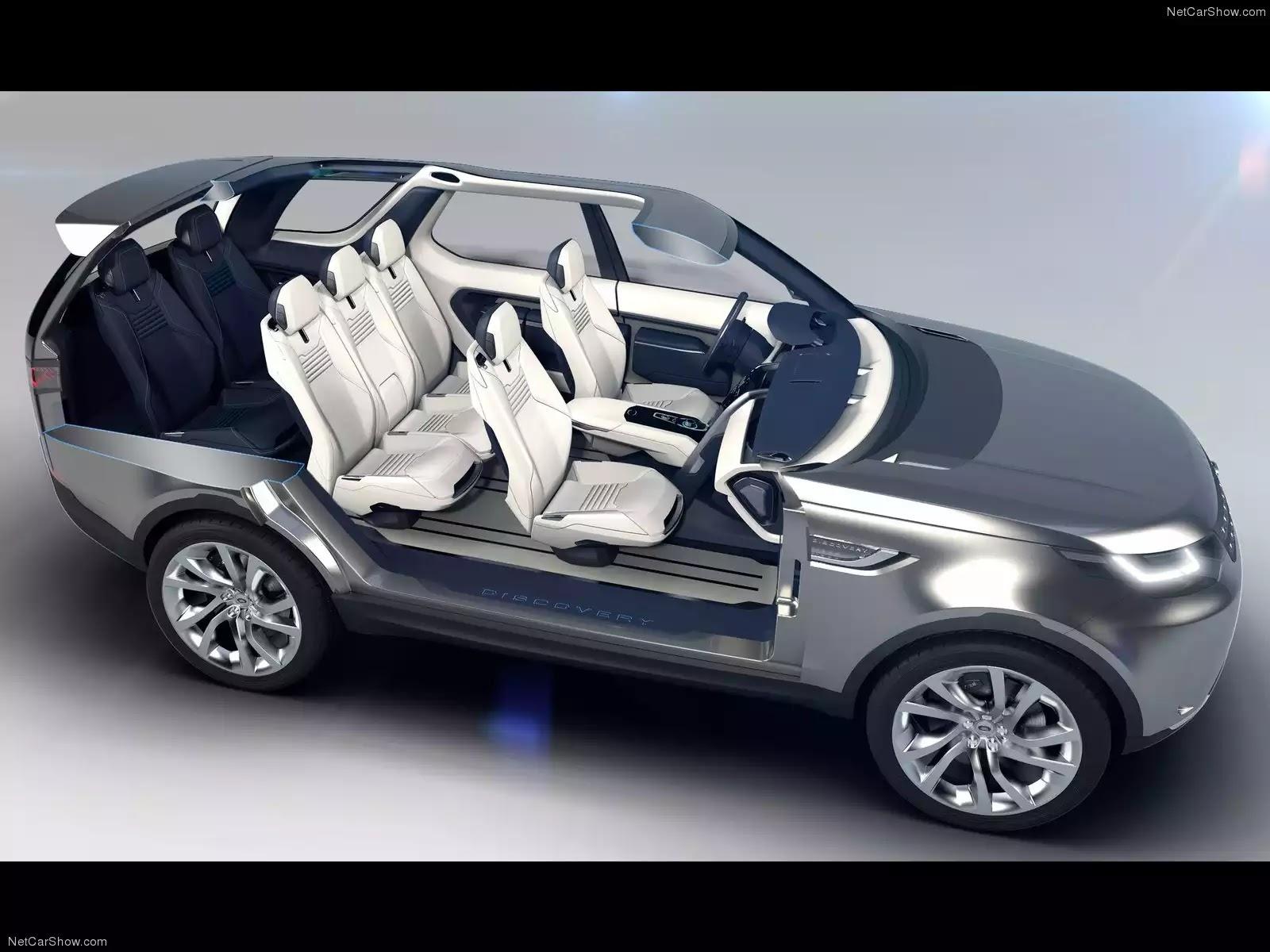 Hình ảnh xe ô tô Land Rover Discovery Vision Concept 2014 & nội ngoại thất