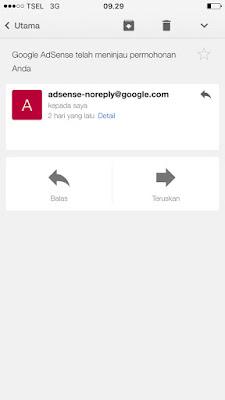 Email Dari Adsense