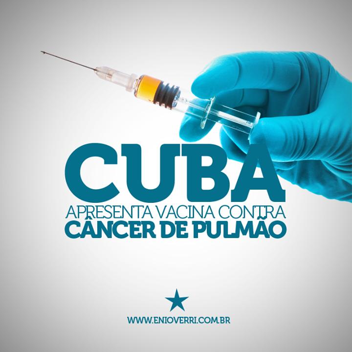Cuba apresenta vacina contra câncer de pulmão