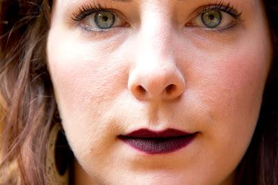 bold lip colors - Lipstick and chiffon