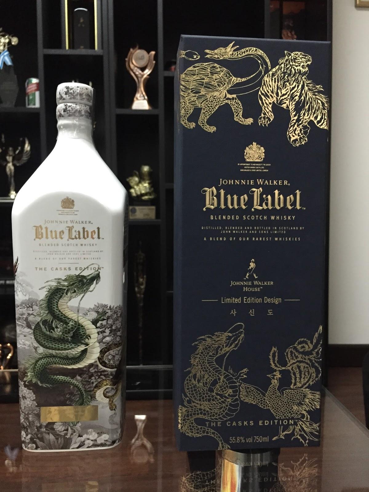 johnnie walker bottles history and evolution blue label limited edition