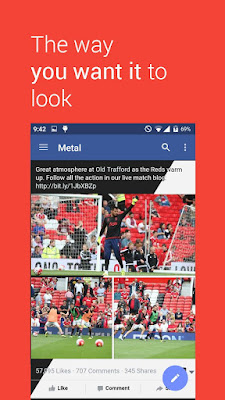 Metal for Facebook & Twitter 3.10 APK for Android