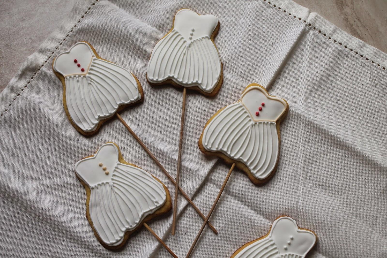 cookies wedding dress per francesca!