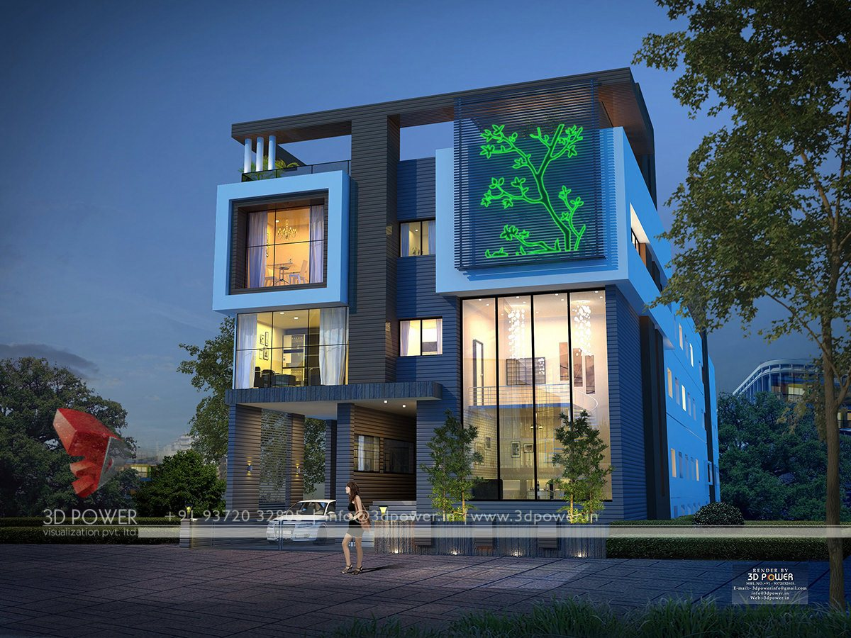 Ultra modern home designs home designs contemporary for Modern house front view design