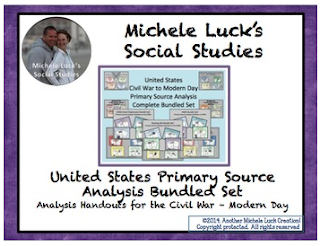 https://www.teacherspayteachers.com/Product/United-States-Complete-Primary-Source-Analysis-Bundled-Set-Civil-War-Modern-Day-1159413