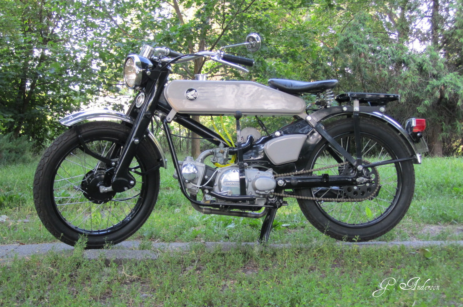 Chalopy 2012 The Above Picture Shows Honda Cb100 Pictorial Diagram It 75 Ct90