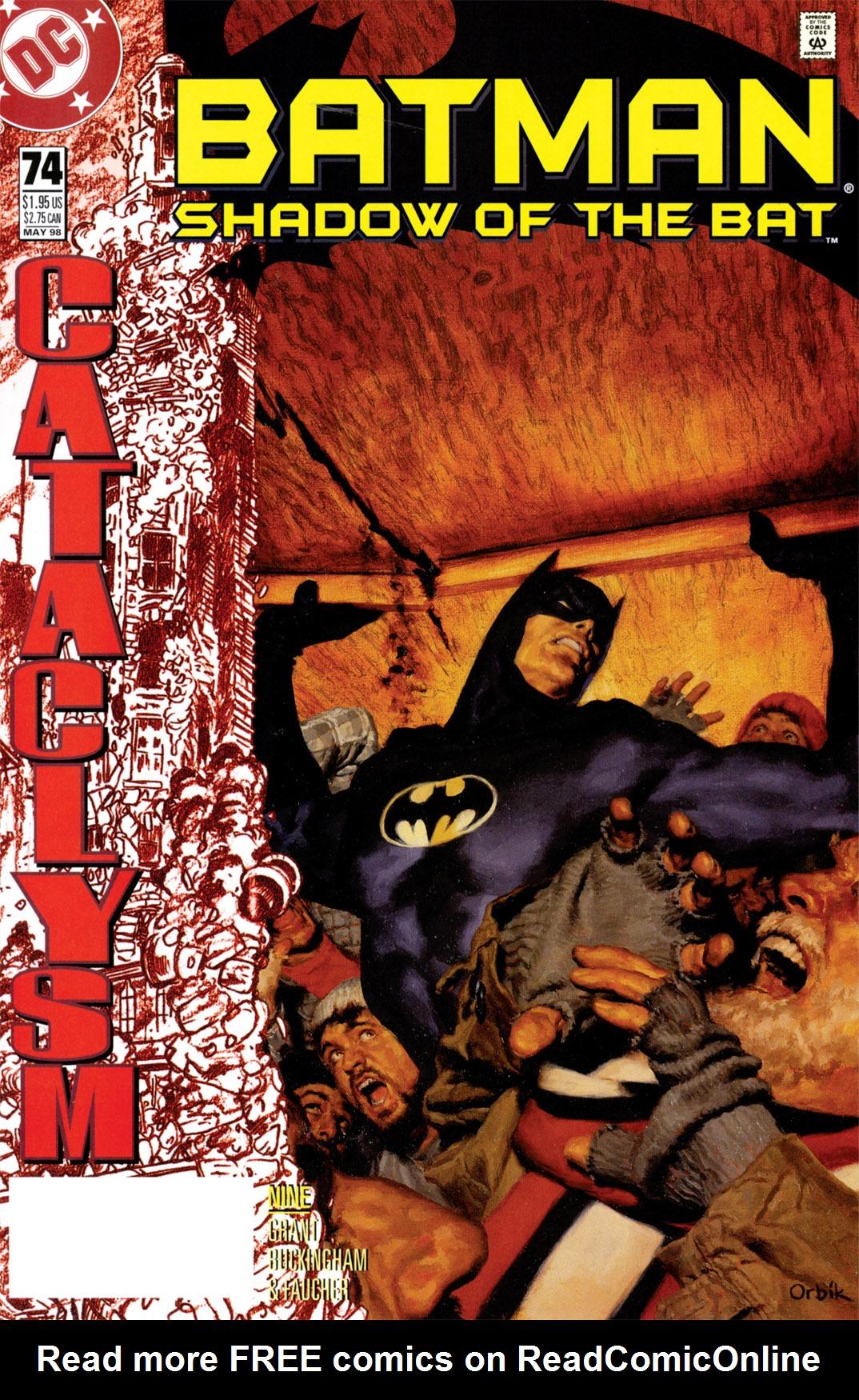 Batman: Shadow of the Bat 74 Page 1