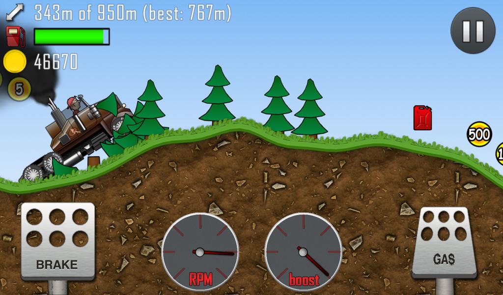 Hill Climb Racing Para ve Yakıt Hilesi