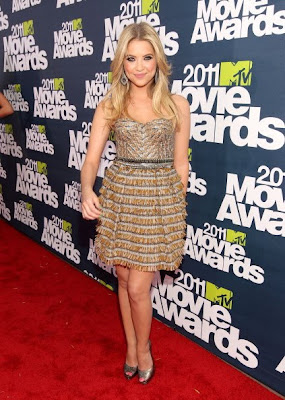 Ashley Benson-Prom Dress Inspiration from celebrity dresses at the Red Carpet