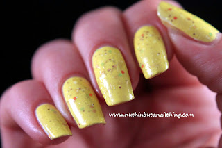 Etude House Ice Cream Polish Lemon Sherbet