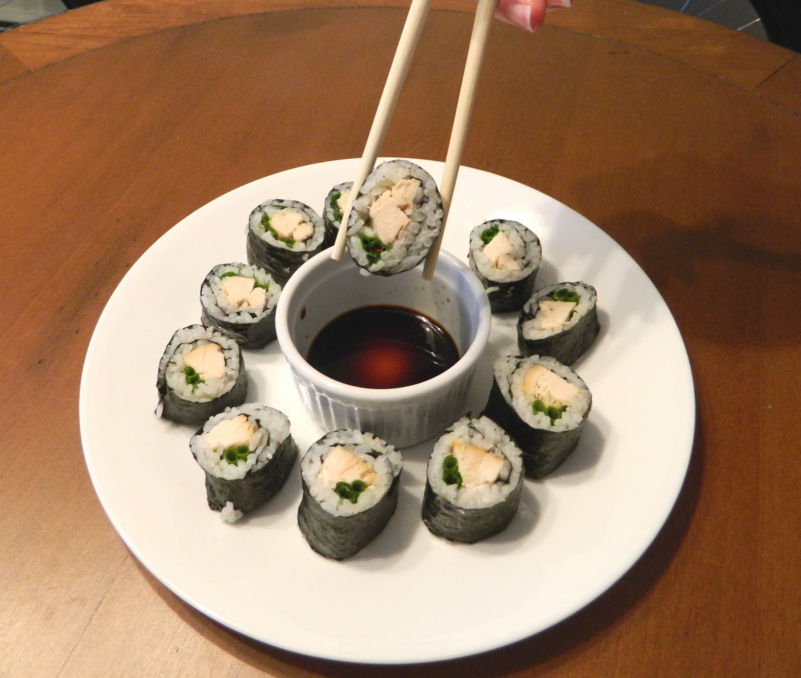 how to cook teriyaki chicken for sushi