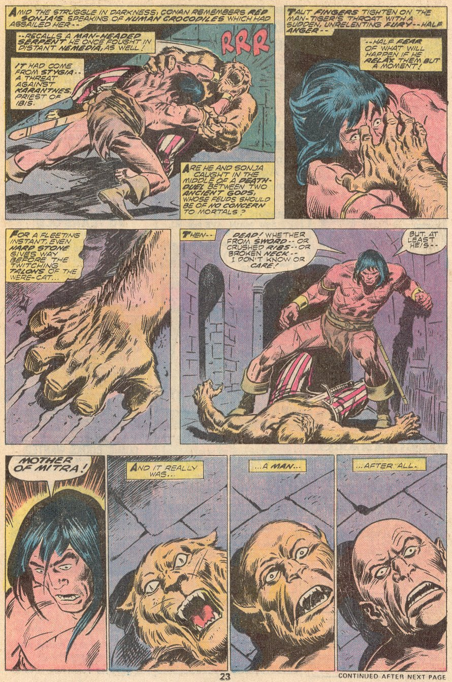Conan the Barbarian (1970) Issue #67 #79 - English 15