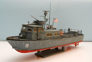 revell patrol ship model