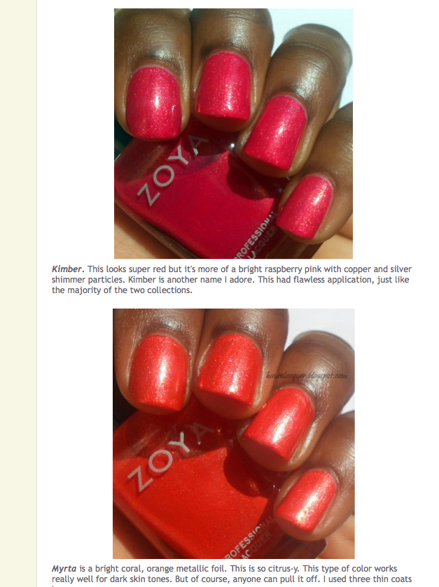 Great Zoya Color - see it on YOU (no matter what your skin tone ...