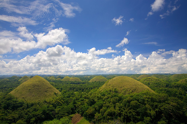 places to go in the philippines 1 chocolate hills bohol