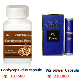 Cordyceps Plus Capsule & Vig-power Capsule