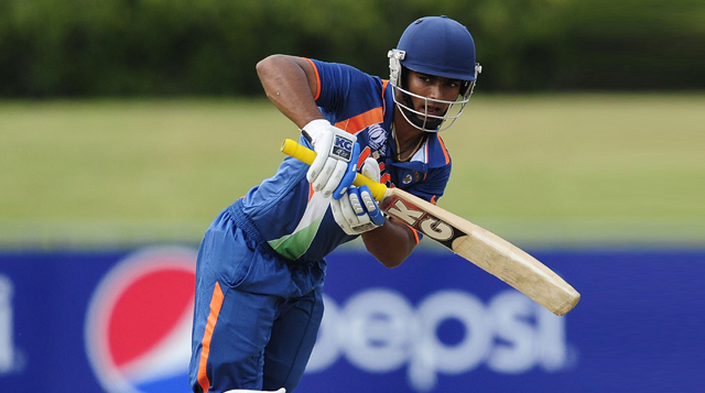 Ankush-Bains-India-U19-vs-Australia-U19-Tri-Nation-Tournament-2013