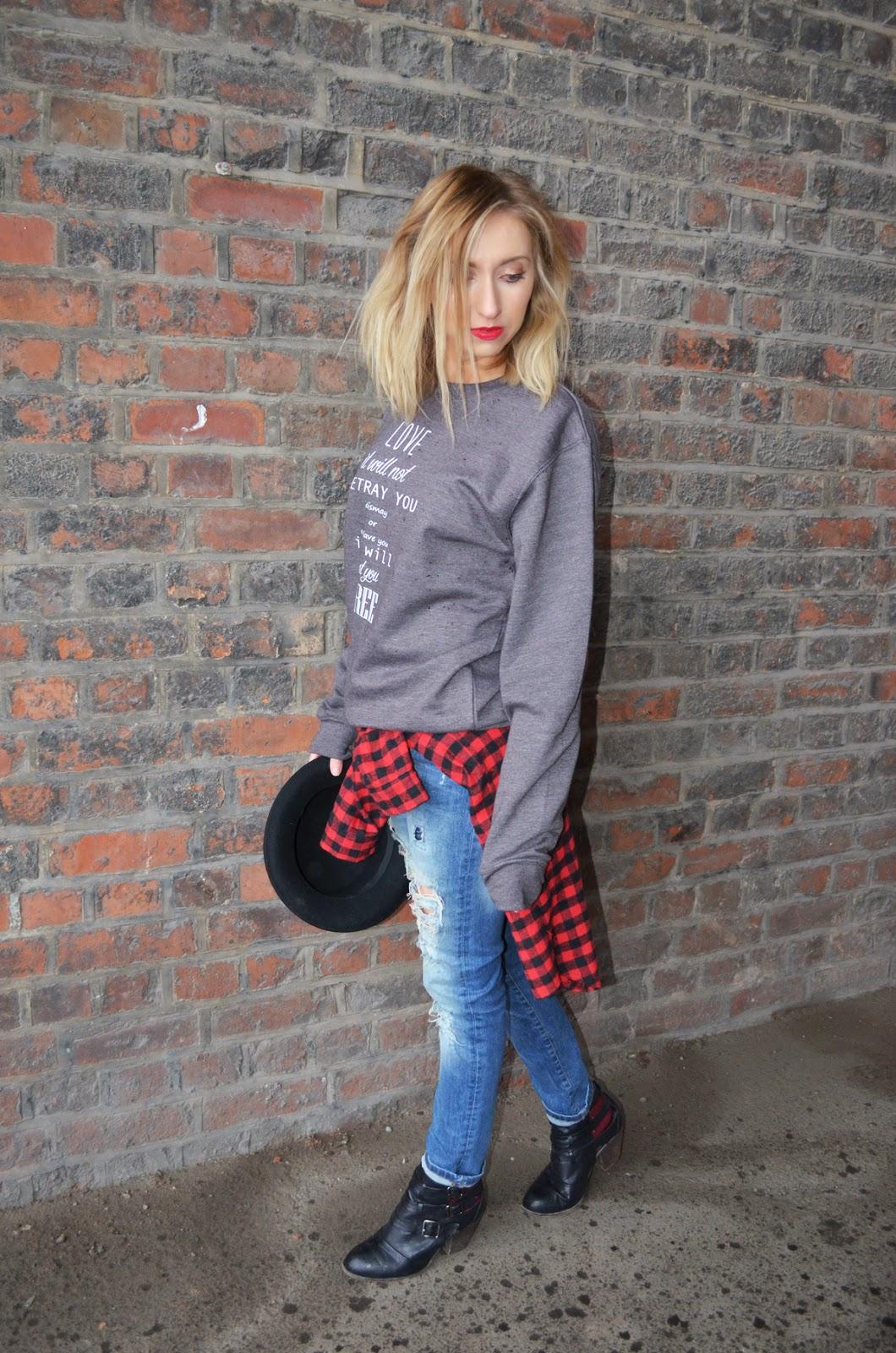Rock On Ruby Sweater