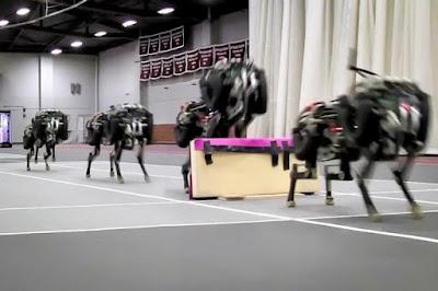 Robot Cheetah Yang Bisa Melompati Rintangan