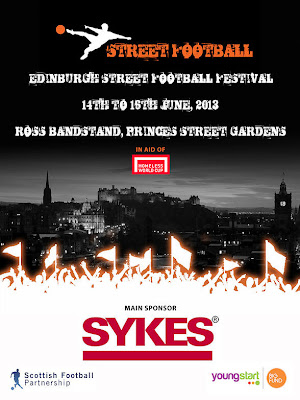 Edinburgh's first Street Football Festival June 2013
