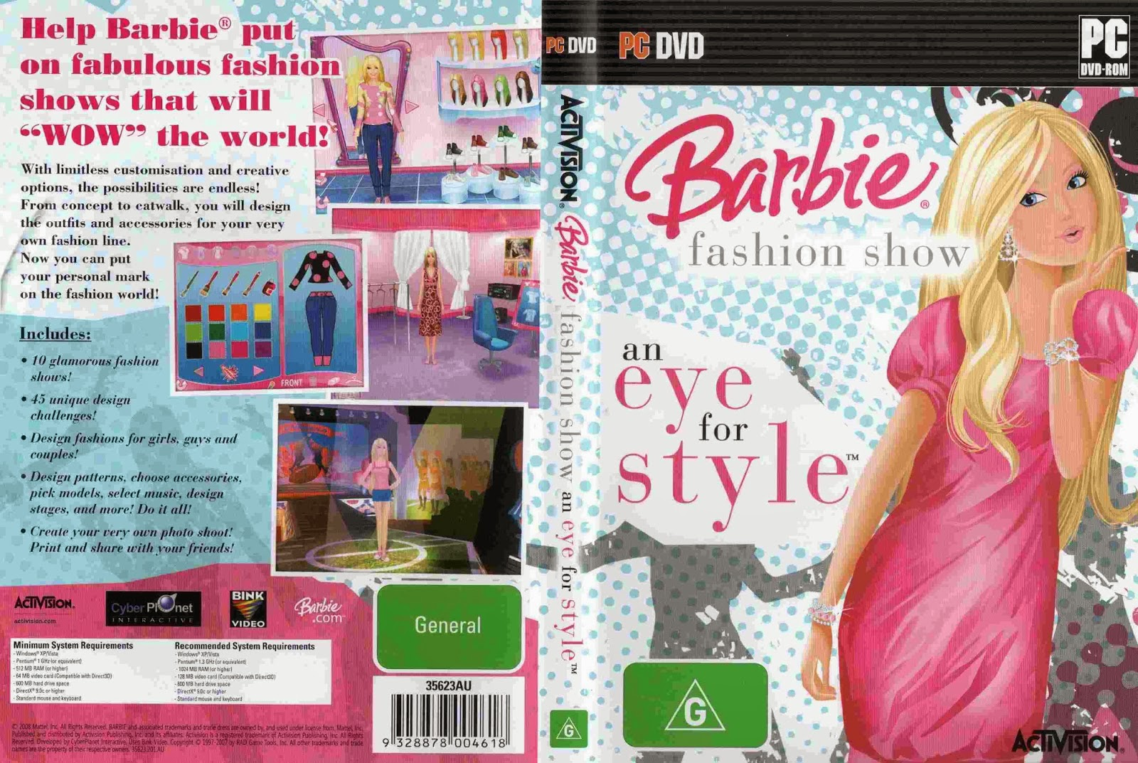 Barbie fashion show pc game free Fashion style games online