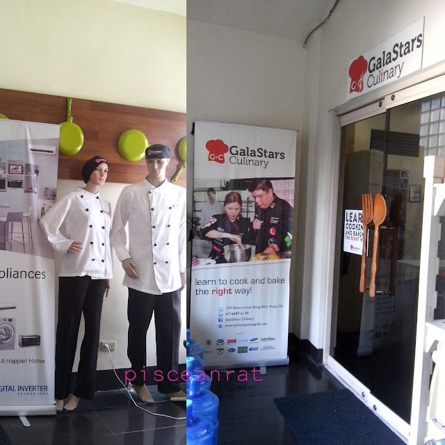 """September 30, 2015, I attended the Samsung Digital Appliances 7th Cooking Workshop """"Asian Inspired Dishes for the Family Food Trip"""" in GalaStars Culinary School in Pasig."""