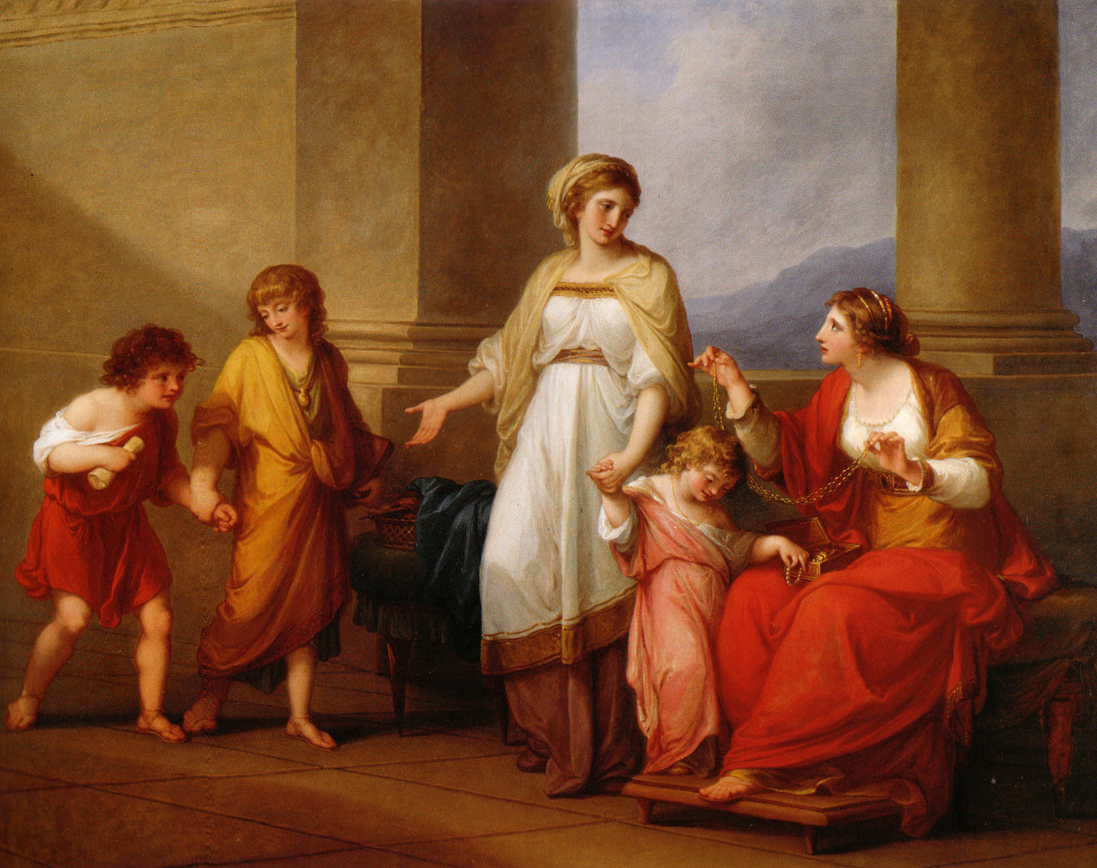 Through The Arts And Beauty Neoclassical Art
