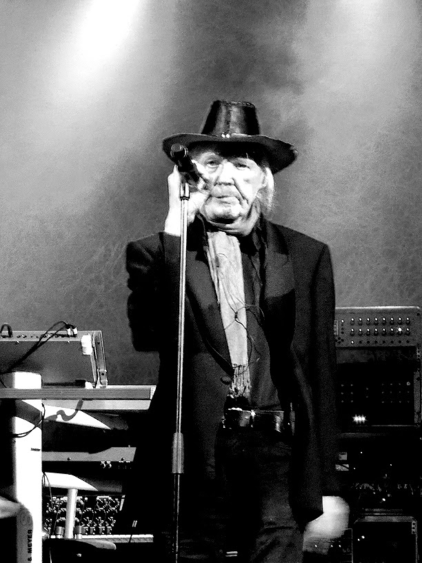 Edgar Froese avec Tangerine Dream live @ Le Trianon, Paris 2014 / photo S. Mazars