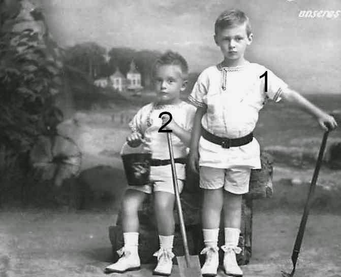 Wilhelm et Louis Ferdinand de Prusse
