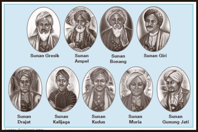 Gambar Wali Songo Penyebar Islam