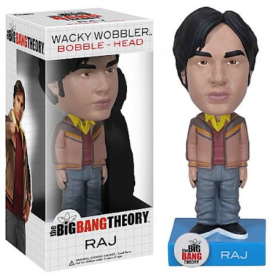 "The Big Bang Theory Wave 3 Bobble Heads by Funko - Rajesh Ramayan ""Raj"" Koothrappali"