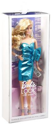 TOYS : JUGUETES - BARBIE Collector Black Label The Barbie Look City Shine   Muñeca - Doll Producto Oficial   Mattel CJF49   A partir de 14 años