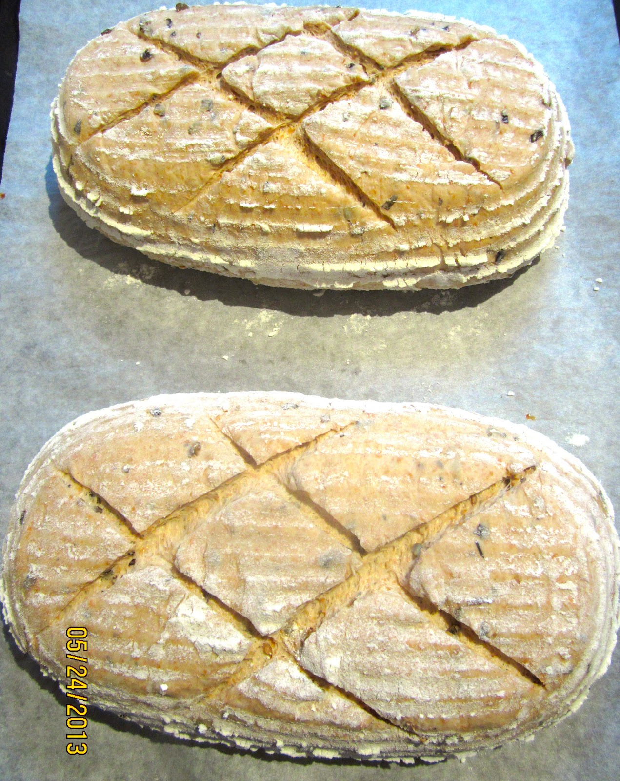 Brot & Bread: WILD RICE SOURDOUGH - THE BREAD THAT ENDED ...
