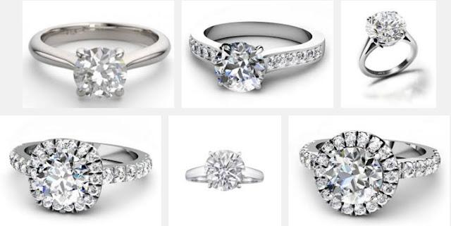 Round Brilliant Diamond Rings