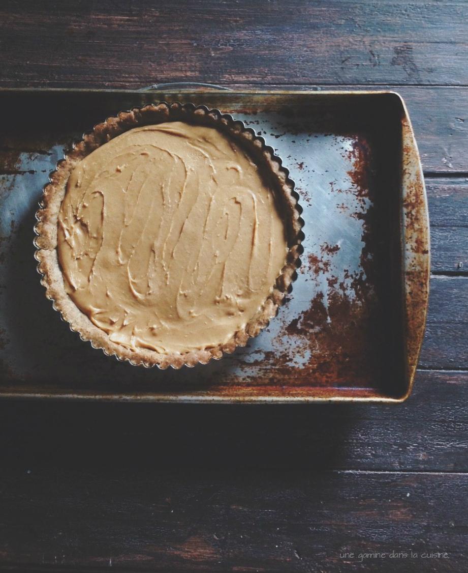 salted cinnamon dulce de leche tart | une gamine dans la cuisine