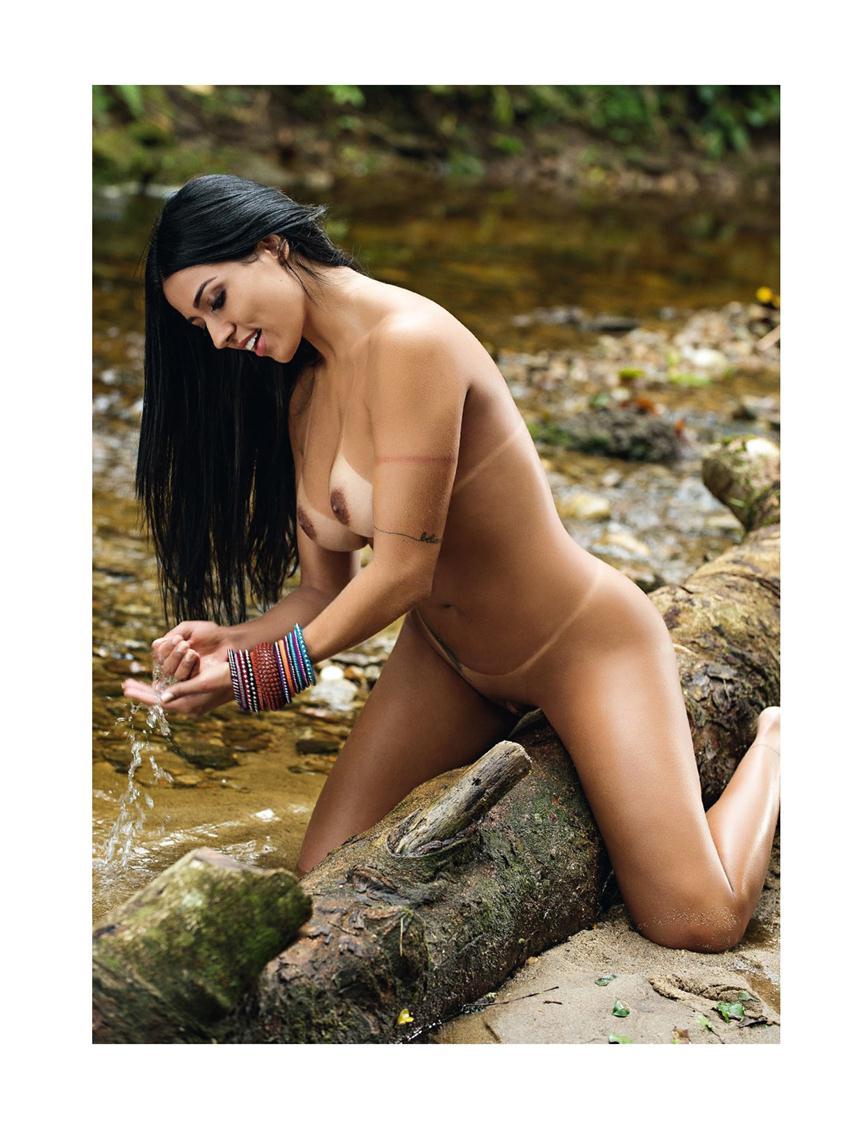 Playboy Novembro de 2015: Cinthia Vallentim (Índia Fitness) (+18) Playboy Cinthia Vallentim