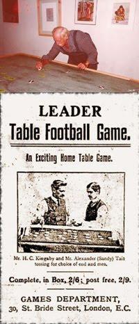 A origem do Futebol de Botão seria inglesa?