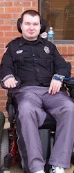 Uniform in wheelchair