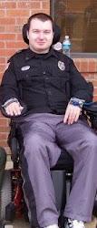 Uniform in wheelchair