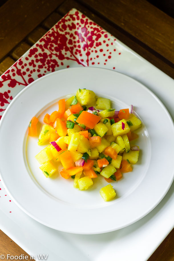 Click for recipe for pineapple salsa