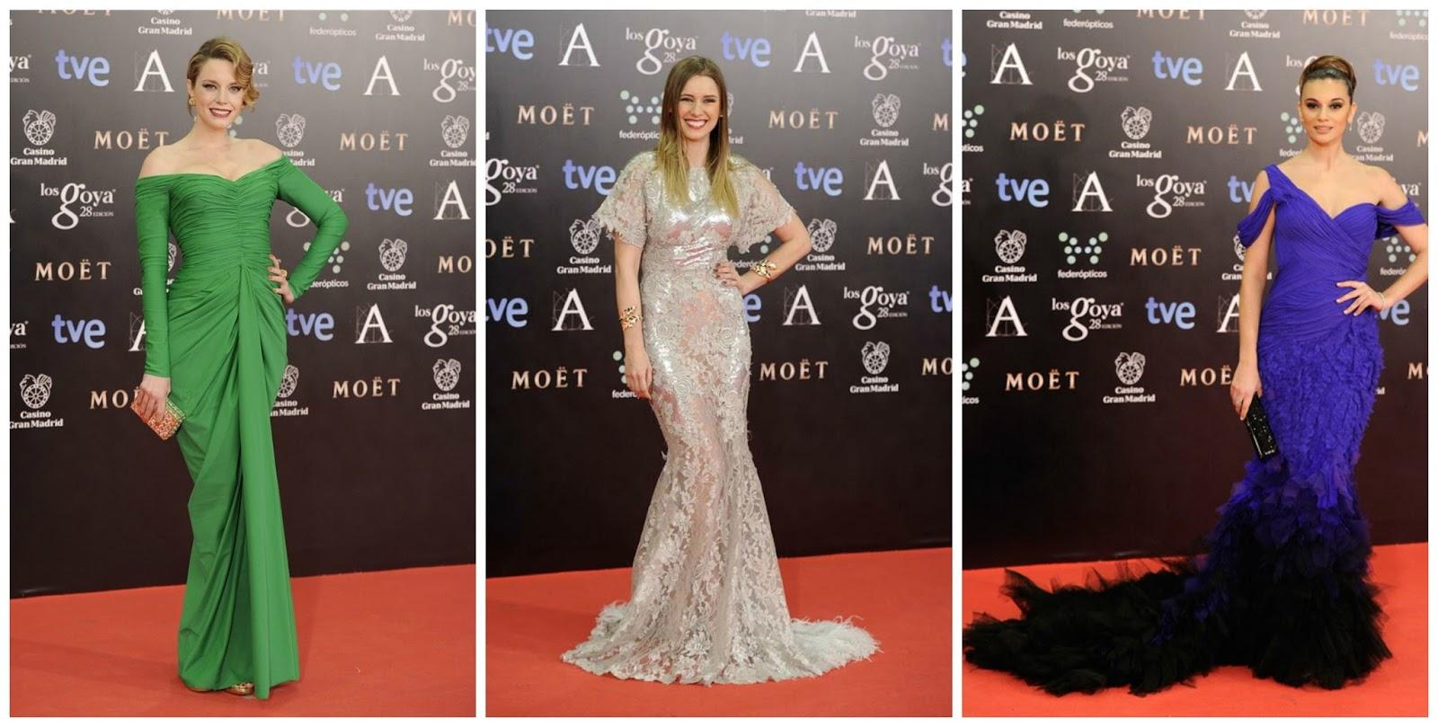 Carolina Bang-Manuela-Vellés-Norma Ruiz Peor vestidas goya 2014