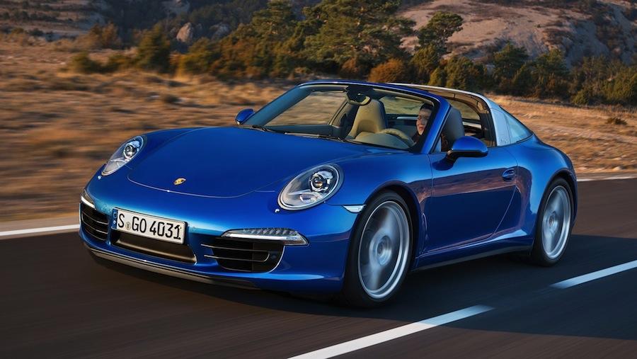ポルシェが新型「911タルガ」の日本販売価格を発表