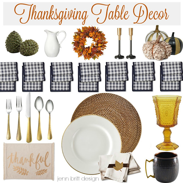 Simply life design thanksgiving table decor