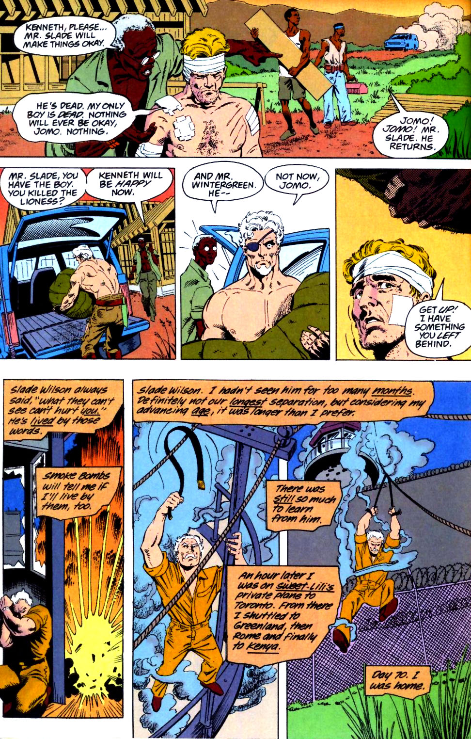Deathstroke (1991) Issue #26 #31 - English 22