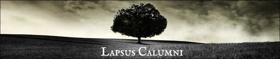 . . lapsus calumni . .